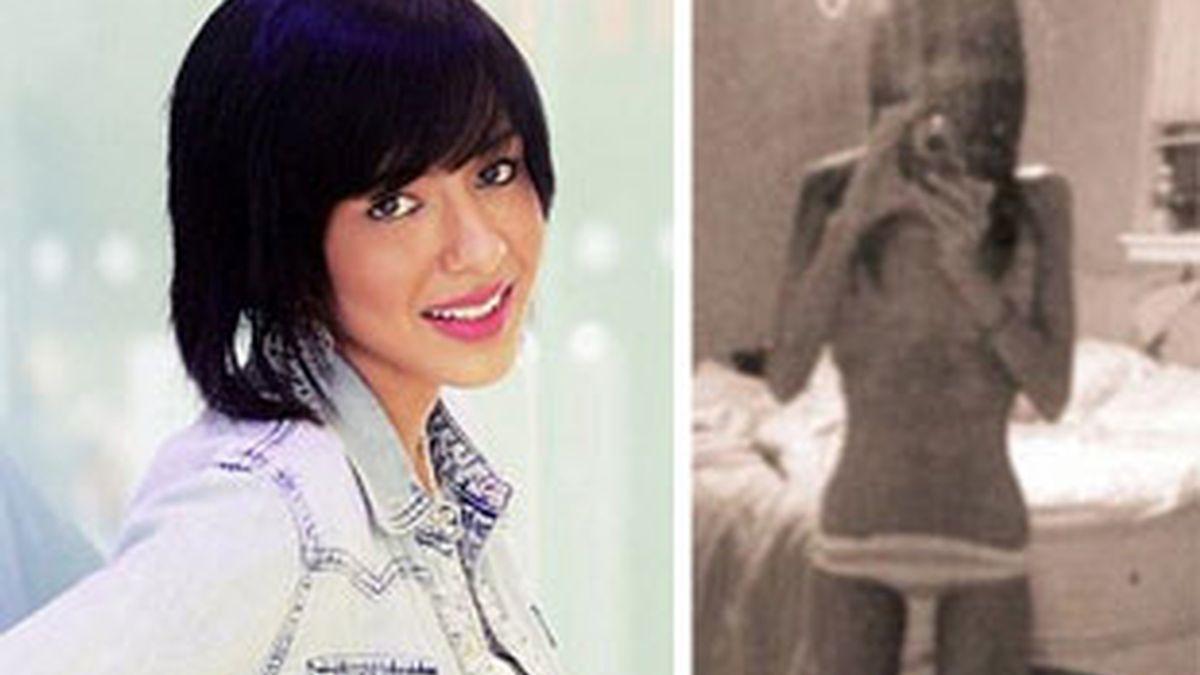 Samira colgó sus imágenes demacrada en la red social Bebo. Foto: Daily Mail