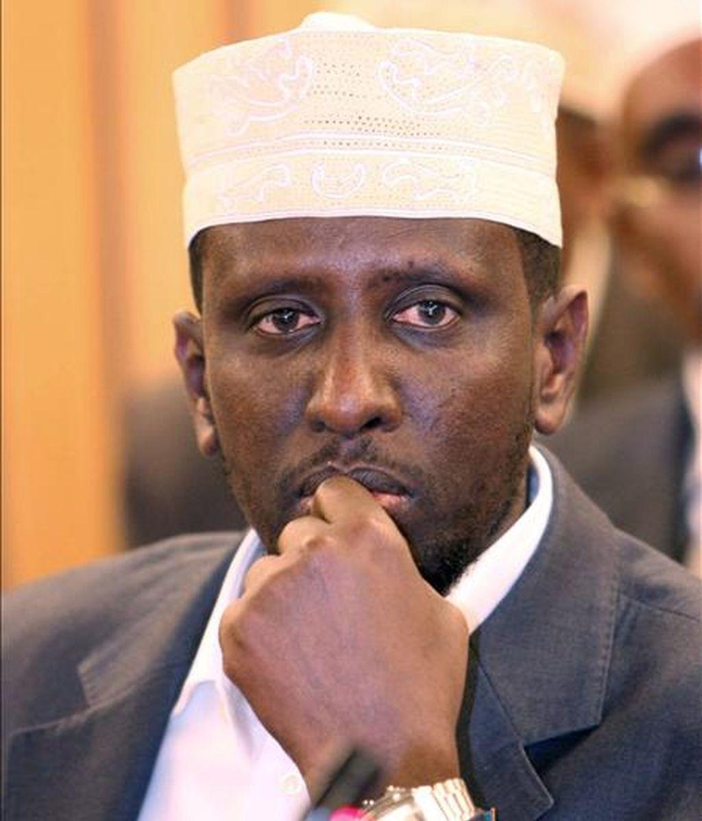 El presidente de Somalia, Sharif Sheikh Ahmed. EFE/Archivo