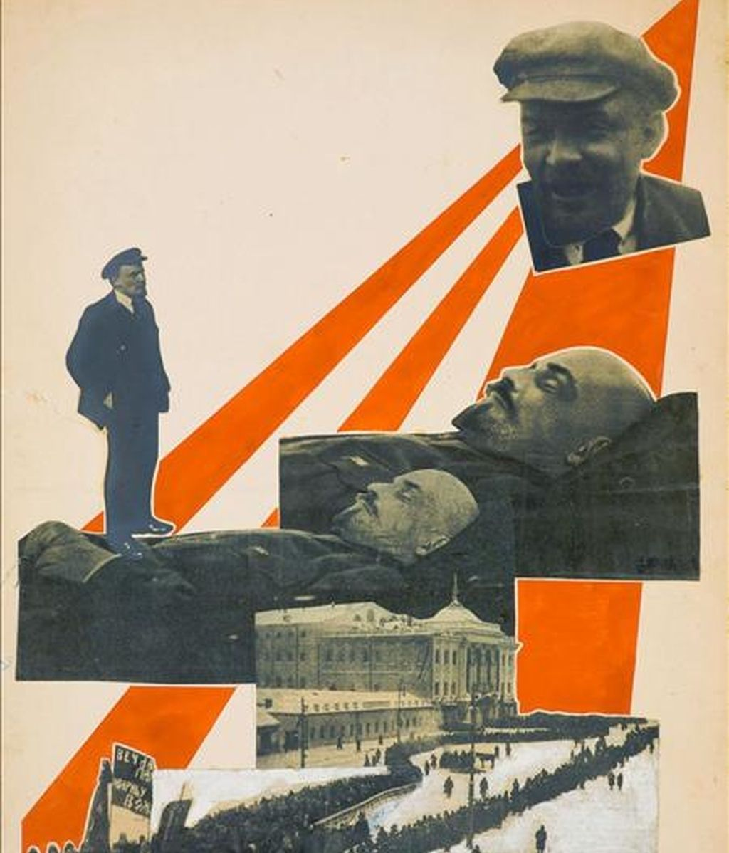 Ilustración para la revista 'Young Guard' 1924, de Aleksandr Rodchenko, que forma parte de la exposición que la Tate Modern de Londres dedica a partir del jueves y hasta el 17 de mayo a dos destacadas figuras del constructivismo ruso: Alexandr Rodchenko (1891-1956) y Liubov Popova (1889-1924). EFE
