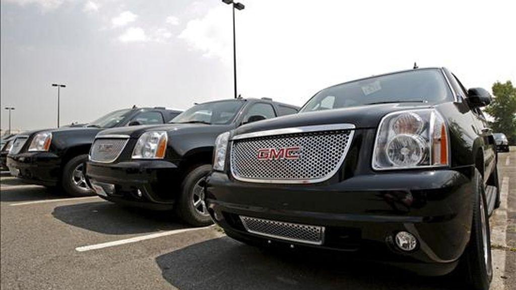 GM dijo que las ventas de 191.875 vehículos en mayo fueron el mejor resultado de lo va de 2009. EFE/Archivo