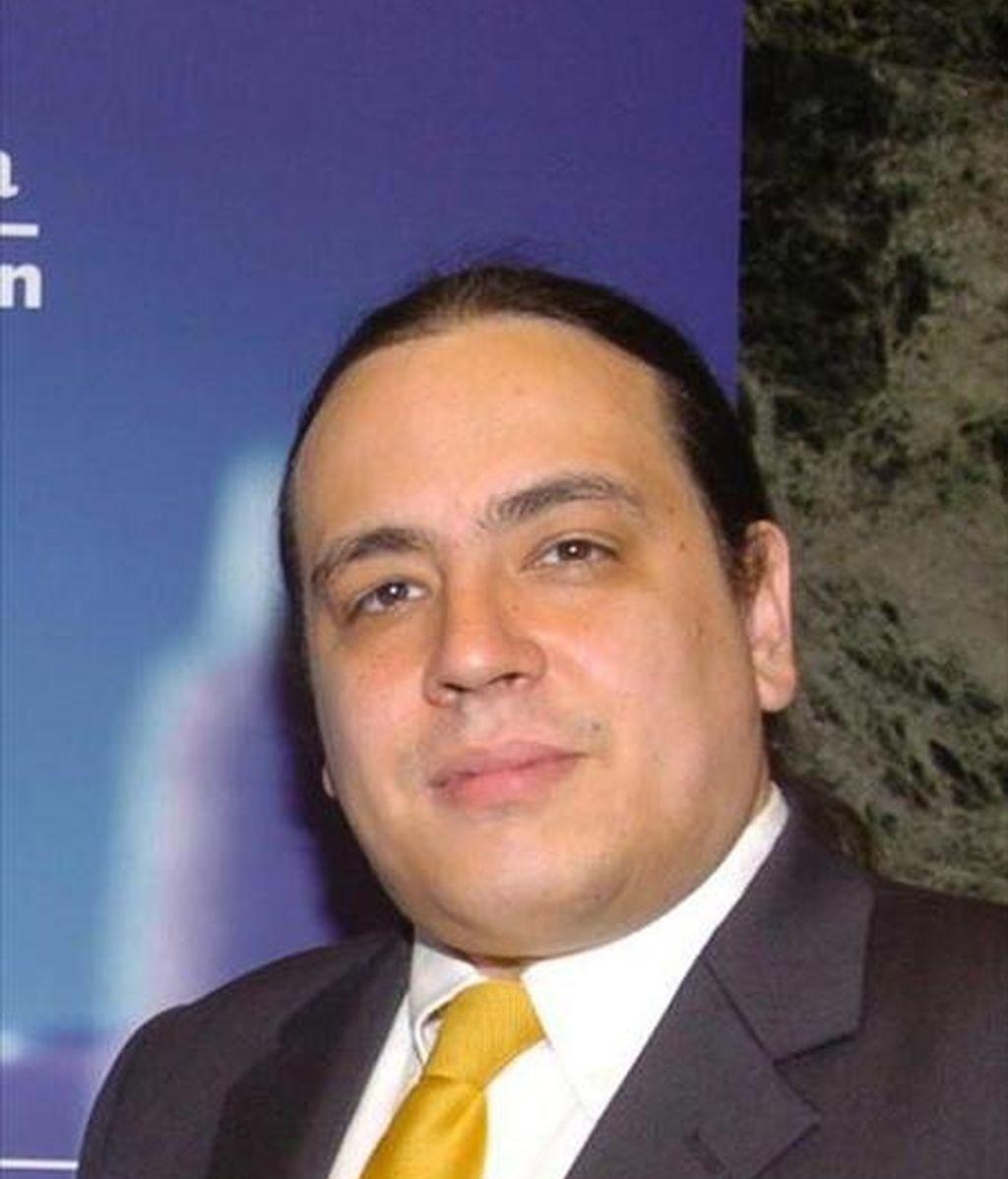 En la imagen, el escritor venezolano Juan Carlos Méndez Guédez. EFE/Archivo