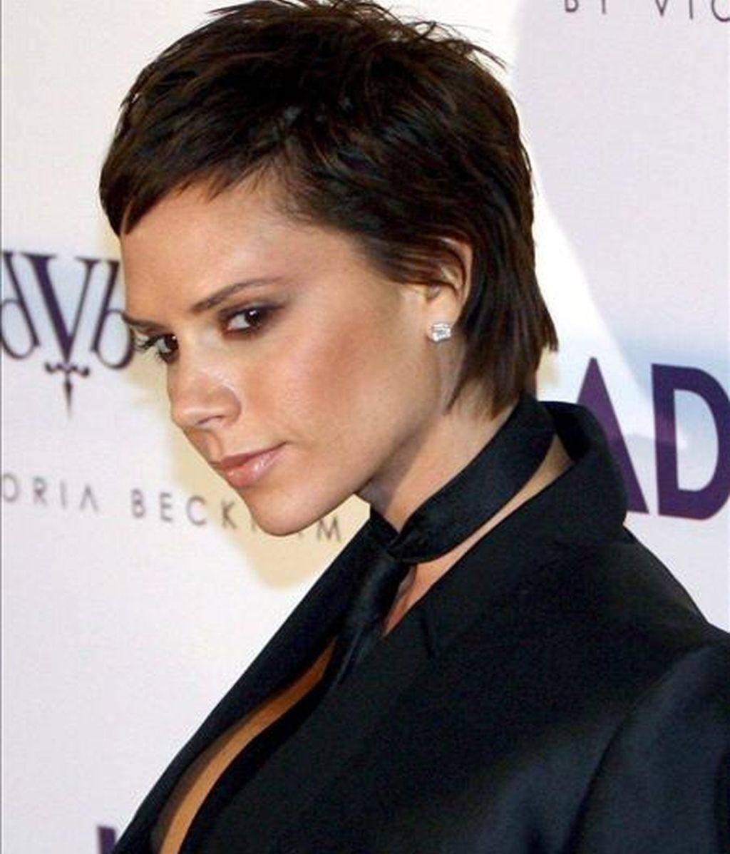 """La ex-Spice Girl Victoria Beckham, quien ha sido tentada para formar parte del jurado del concurso """"Factor X"""" en Reino Unido. EFE/Archivo"""