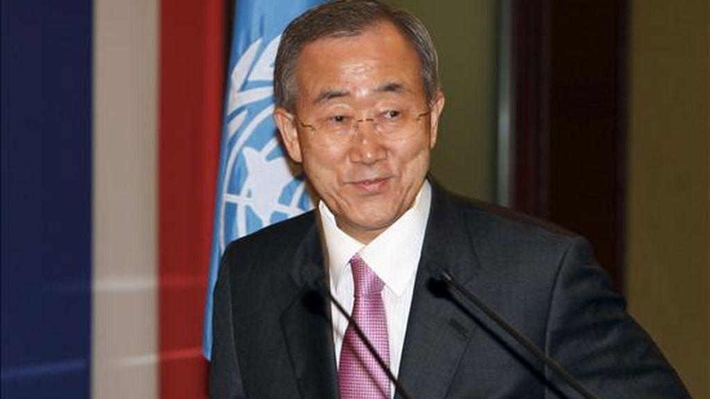 """El secretario general también reconoció """"los graves errores de juicio"""" de los responsables de la ONU de la época, que no supieron evitar la masacre. EFE/Archivo"""