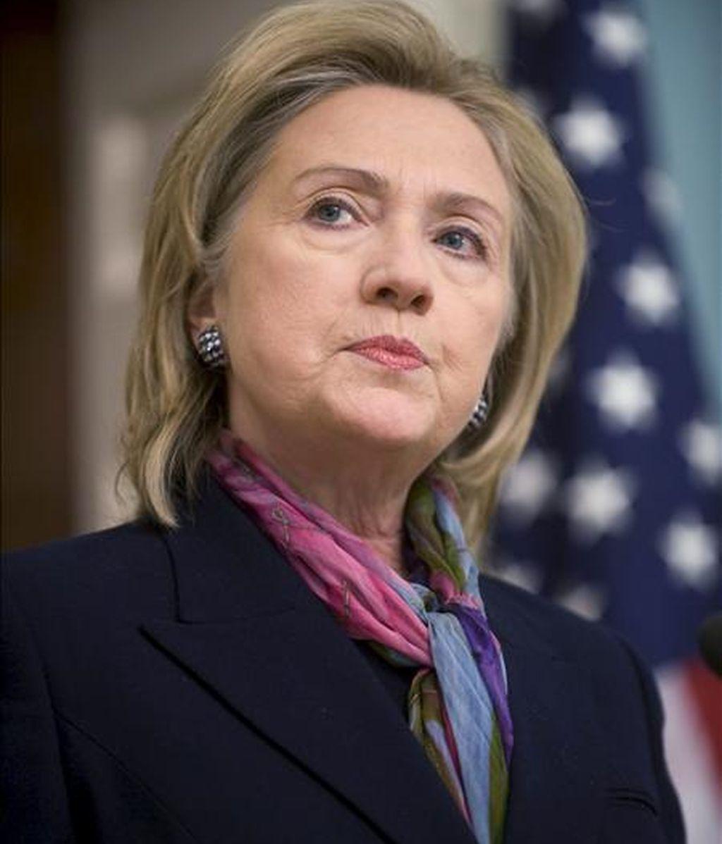 """El Departamento de Estado de EE.UU. indicó que la secretaria de Estado, Hillary Clinton, se reunirá con sus pares de Japón y Corea del Sur, Seiji Maehara y Kim Sung-hwan respectivamente, para """"abordar los últimos acontecimientos en la Península Coreana"""". EFE/Archivo"""