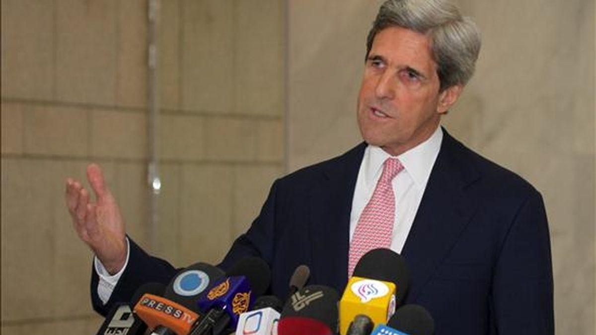 El presidente del Comité de Relaciones Exteriores del Senado estadounidense, John Kerry. EFE/Archivo