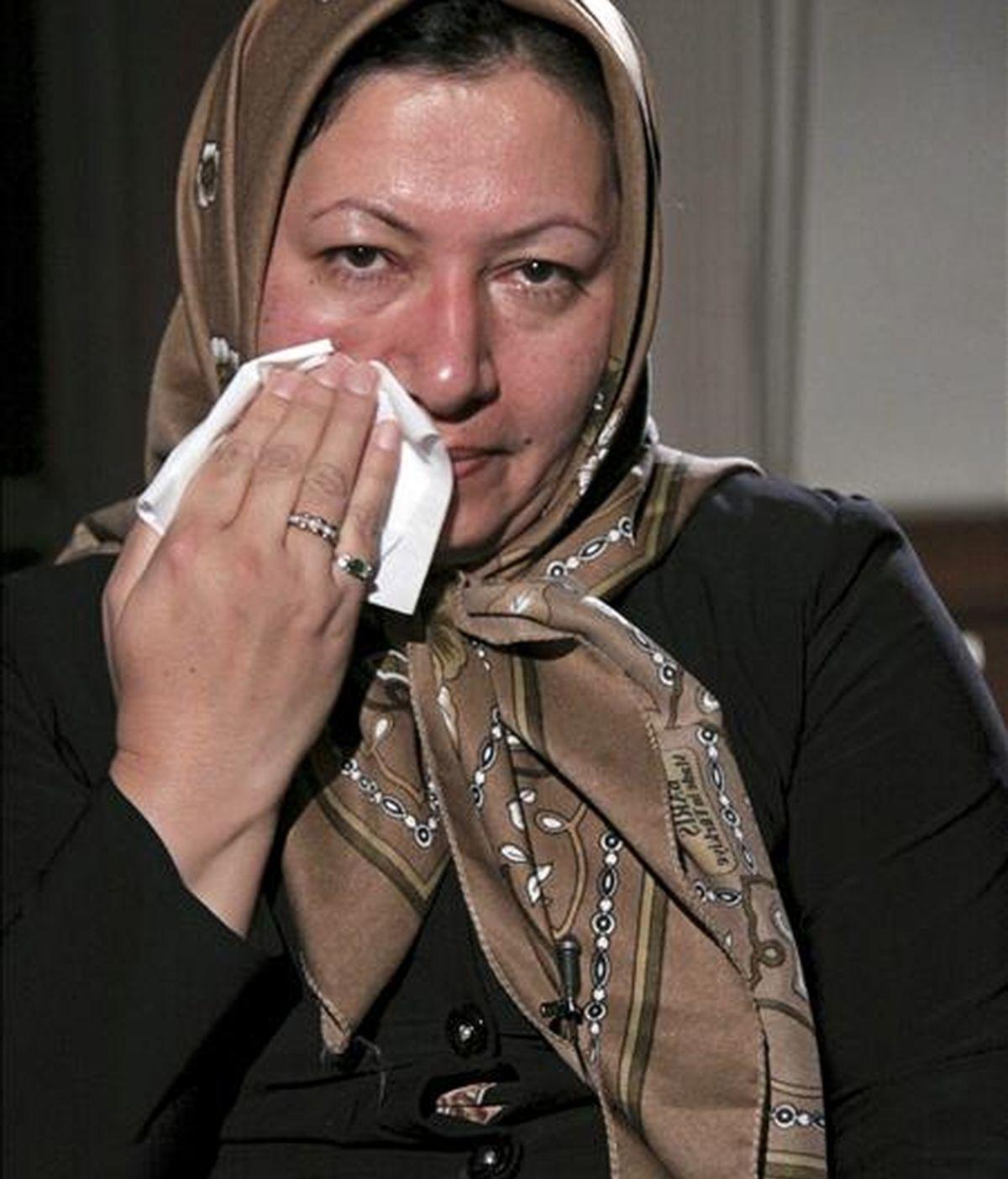 Imagen cedida por la cadena iraní Press TV el 9 de diciembre de 2010 de Sakineh Mohammadi Ashtiani. EFE