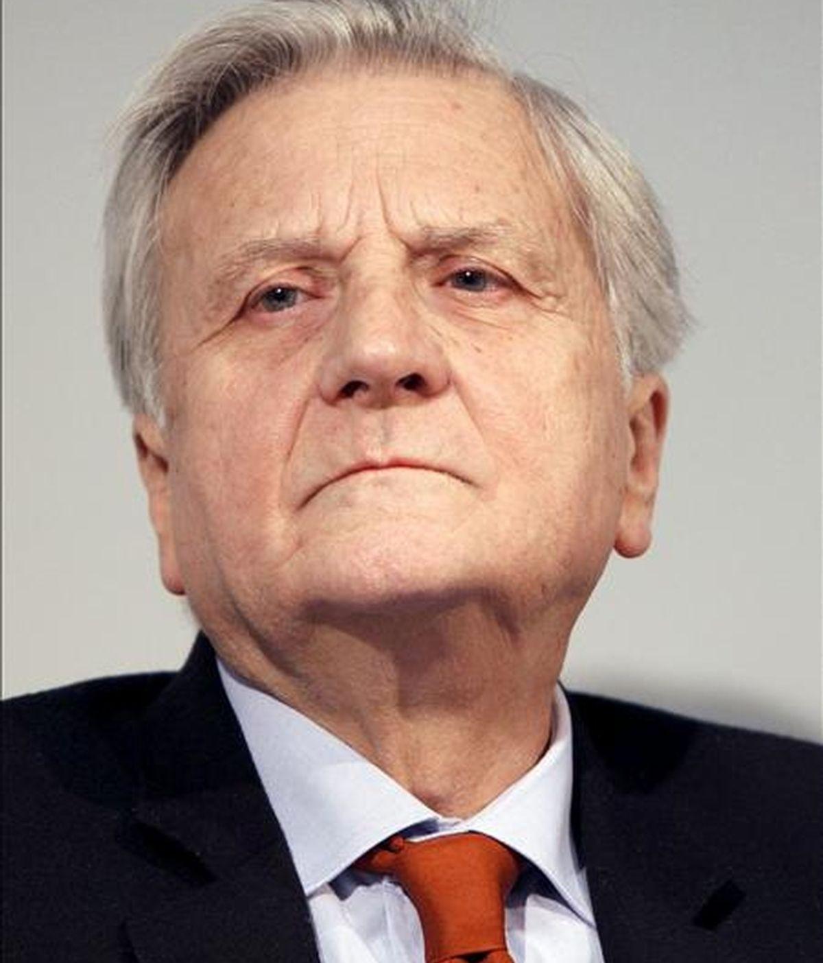 Fotografía de archivo del presidente del Banco Central Europeo, Jean-Claude Trichet. EFE/Archivo