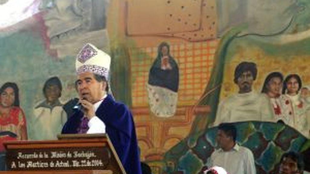Imagen del obispo mexicano. Foto: EFE