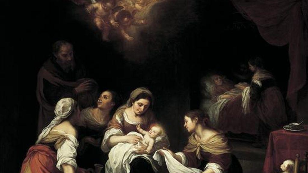 """El cuadro """"El nacimiento de San Juan Bautista"""" (1660), del español Bartolomé Esteban Murillo, es una de las cinco obras de importantes artistas europeos de los siglos XVI y XVII que se exponen en la Colección Frick de Nueva York (EE.UU.). EFE"""