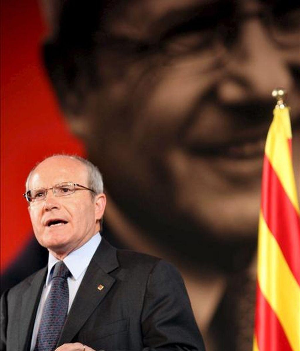 El presidente de la Generalitat y candidato a la reelección por los socialistas catalanes (PSC), José Montilla. EFE/Archivo