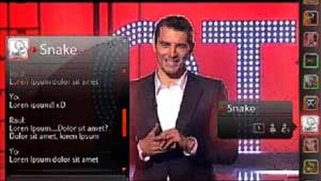 Los usuarios podrán comunicarse entre sí directamente a través de Telecinco.es. Vídeo Informativos Telecinco