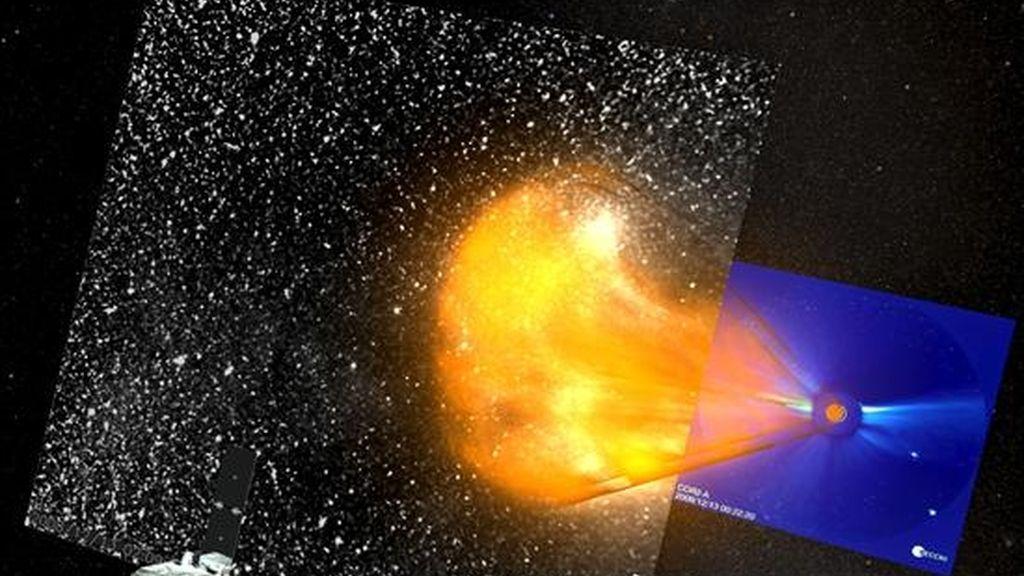Los observatorios espaciales STEREO de la NASA han logrado por primera vez medir con precisión la velocidad, la trayectoria y la forma tridimensional de una tormenta solar, lo que permitirá predecir estos fenómenos como se hace con un huracán, informó la agencia espacial. EFE