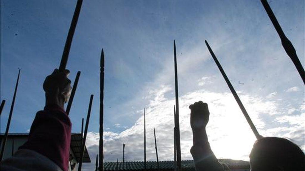 """El informe denuncia un proceso de """"persecución y violencia"""" por parte del Estado contra indígenas que se han resistido a dejar sus tierras por conflictos con hacendados o con organismos oficiales. EFE/Archivo"""