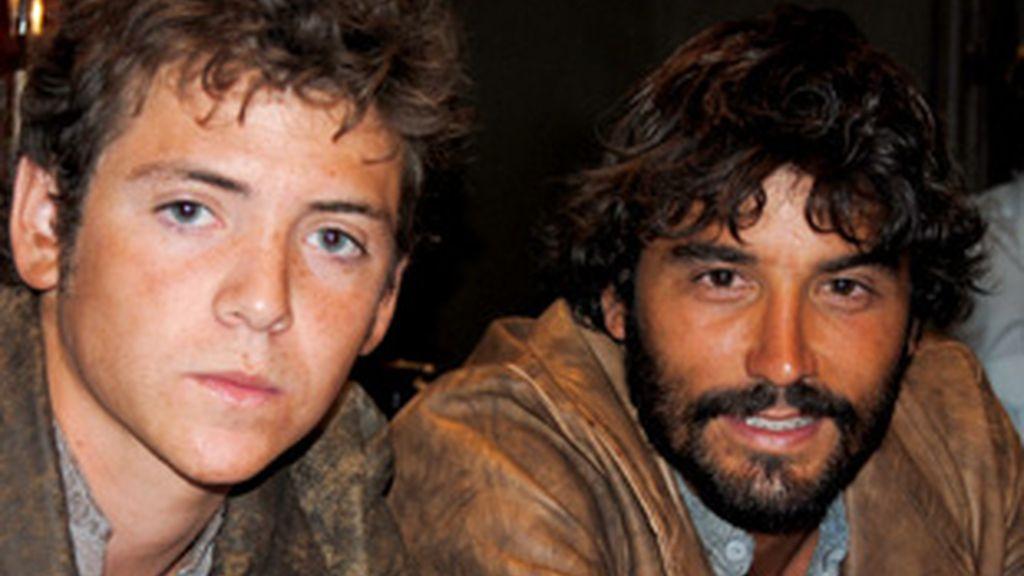 Los protagonistas: Álex García y Junio Valverde.
