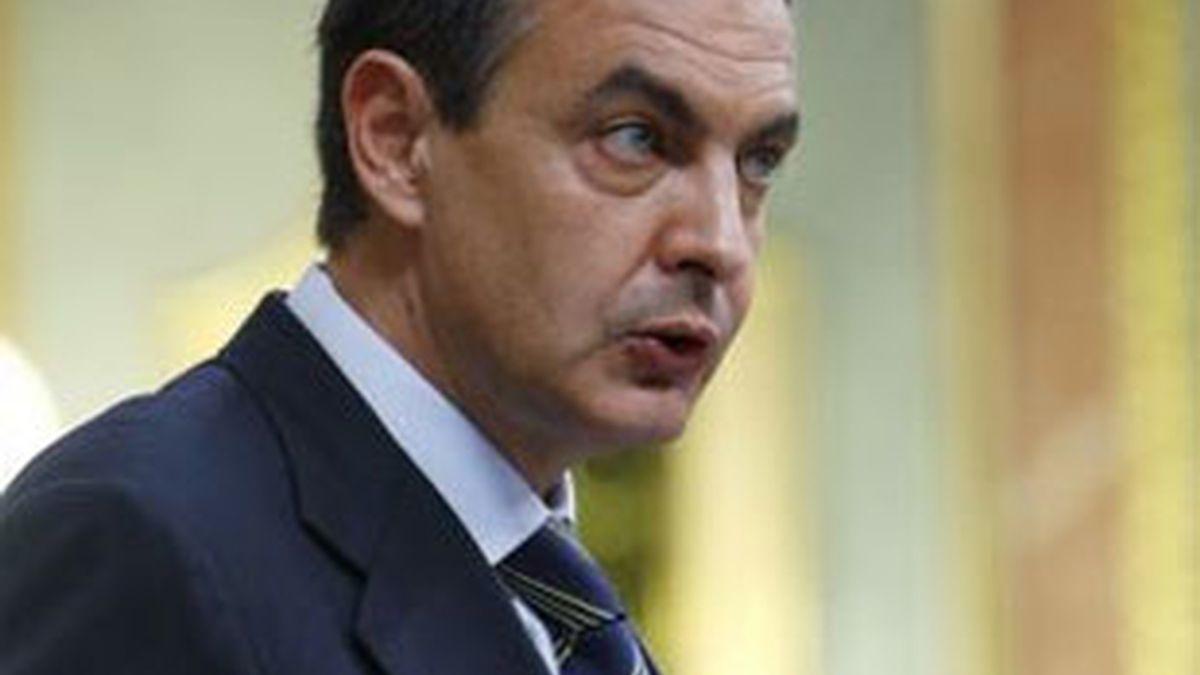 Imagen de archivo del presidente del Gobierno, José Luis Rodríguez Zapatero. Foto: EFE.