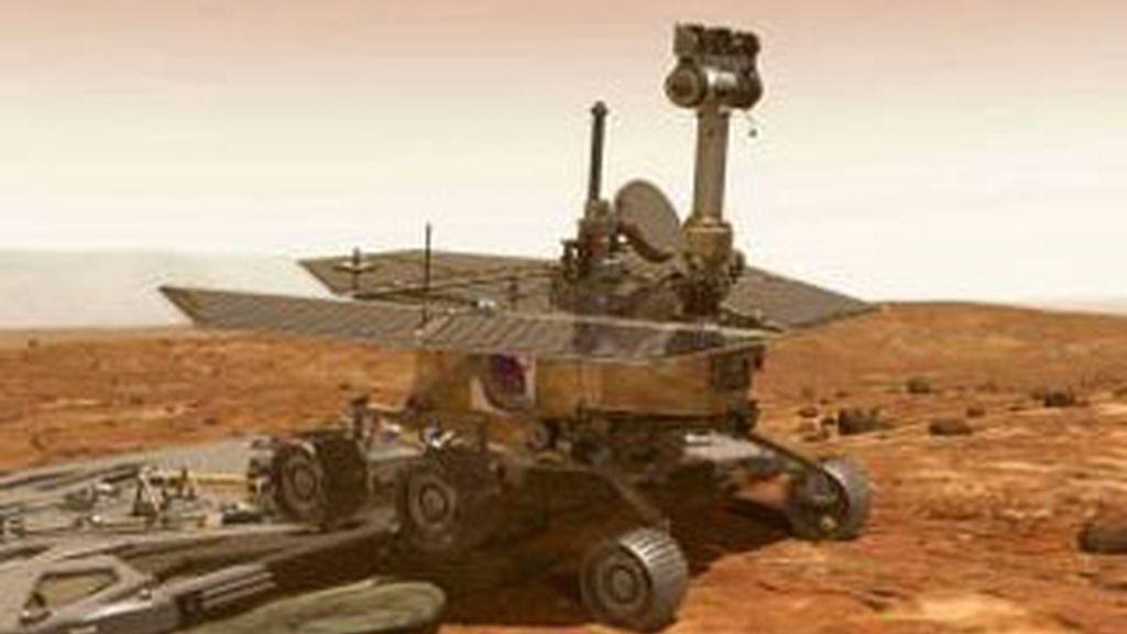 Este robot y su gemelo llevan siete años en Marte. Foto: Archivo.