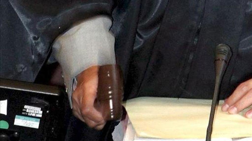Según el fiscal del caso, el Ministerio Público presentará al tribunal al menos 499 pruebas materiales y científicas que inculparían a los 9 detenidos en el asesinato de los tres diputados y su chófer. EFE/Archivo