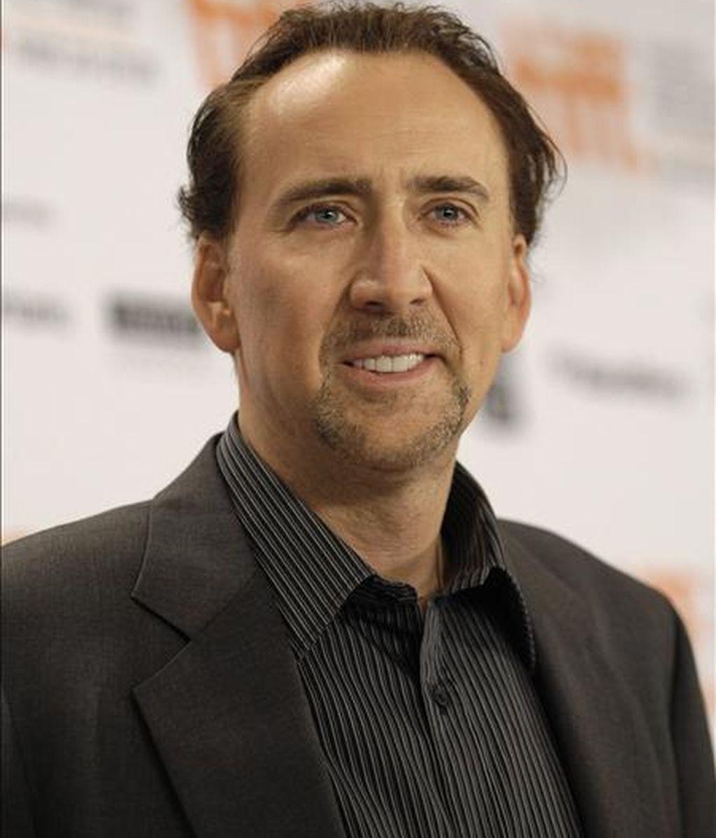 """El actor estadounidense Nicolas Cage estrena esta semana """"The Sorcerer's Apprentice"""". EFE/Archivo"""