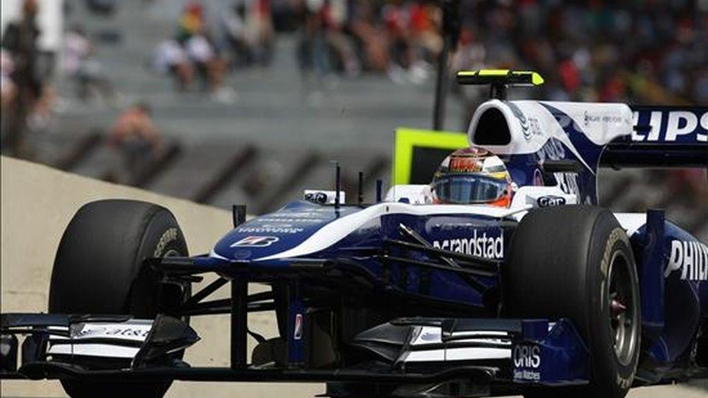 En la imagen, uno de los coches de la escudería Williams F1. EFE/Archivo