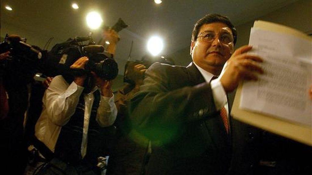Según un comunicado, Zevallos, quien está en prisión en Perú, ha sido una figura importante del tráfico de drogas en este país desde la década de 1980. EFE/Archivo