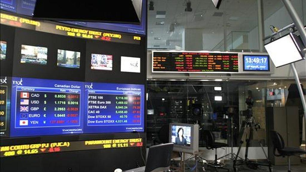 El Ibovespa de Sao Paulo, el principal mercado de la región, bajó un 0,88% y concluyó en 69.918 puntos, en una sesión en la que se concretaron negocios por 11.020 millones de reales (6.536 millones dólares). EFE/Archivo