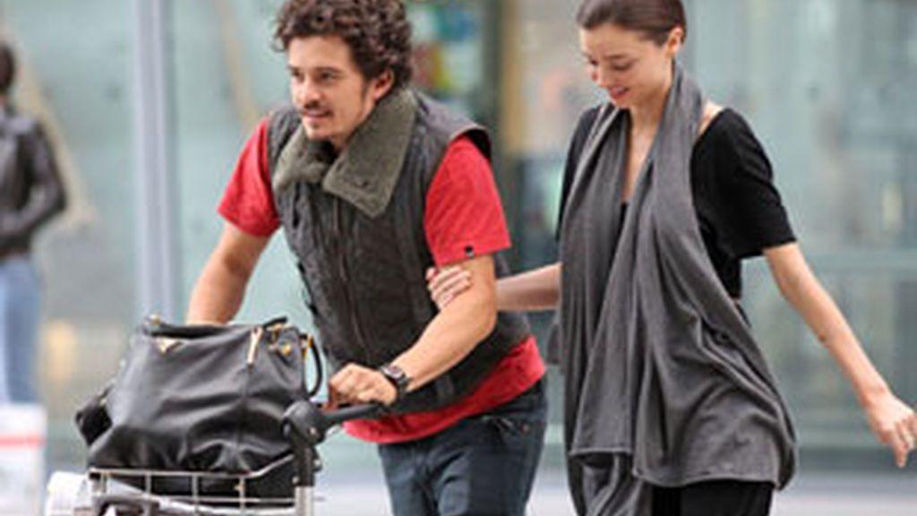 """""""Definitivamente está embarazada... Miranda está emocionada"""", desvelaba una fuente cercana a la modelo australiana. FOTO: GTRES"""