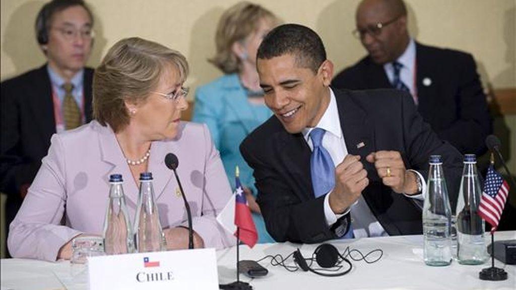 En la reunión, que se celebrará en la Casa Blanca, los dos mandatarios, que ya se encontraron hace unas semanas en la Cumbre de las Américas, hablarán sobre temas de interés común, entre ellos la energía renovable y el cambio climático. EFE/Archivo