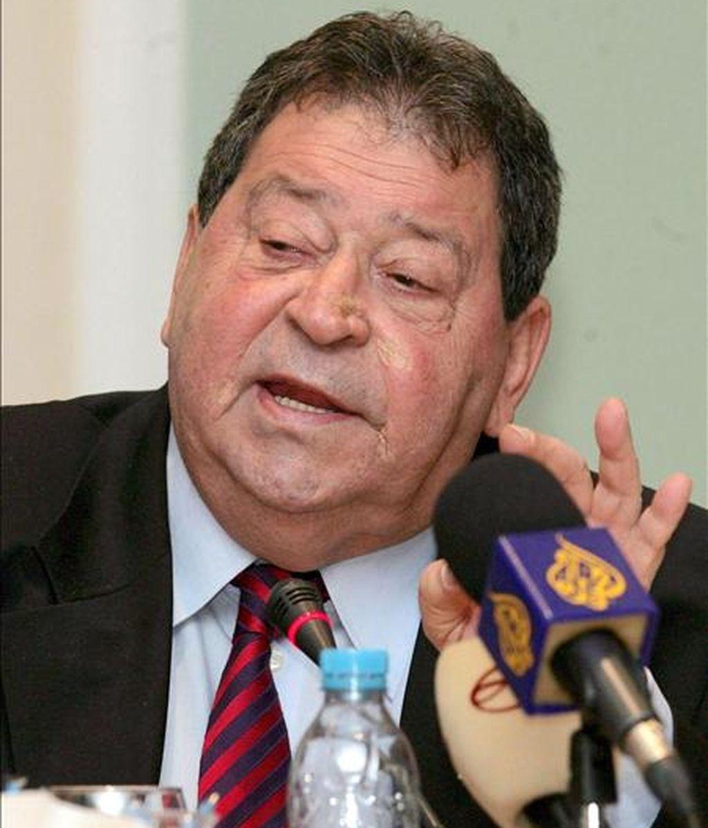 El ex ministro de Defensa de Israel Benjamín Ben-Eliezer. EFE/Archivo