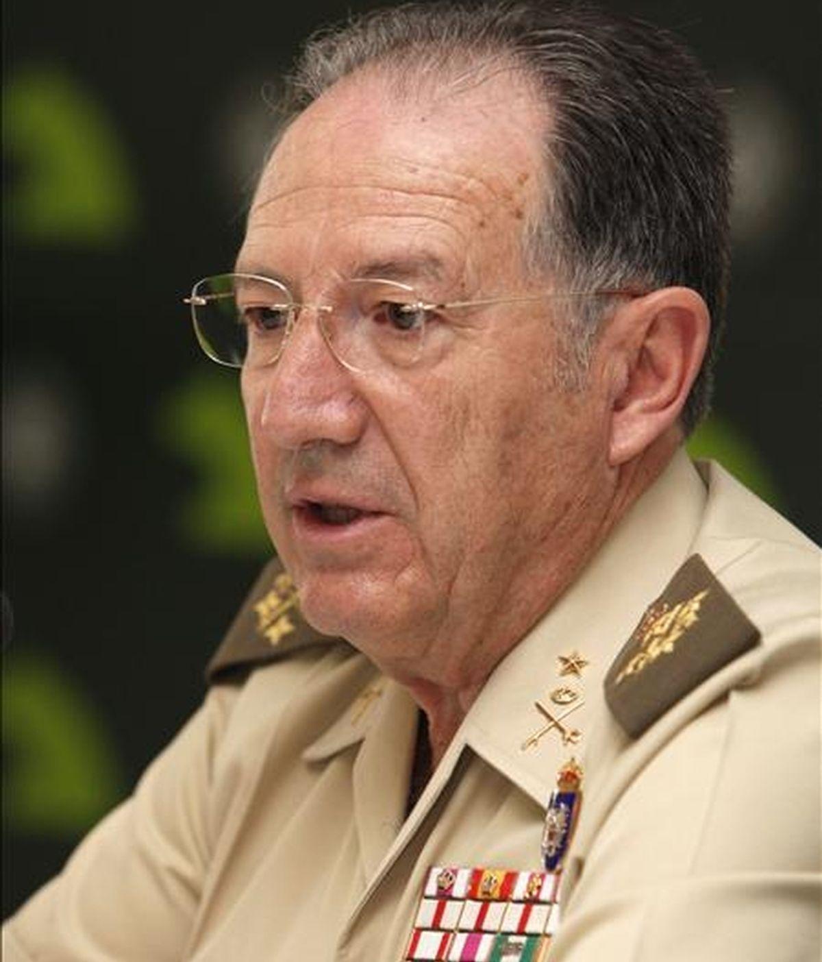 El Alto Representante para la Presidencia española de la UE en asuntos de Defensa, general Félix Sanz Roldán, anterior Jefe de Estado Mayor de la Defensa (JEMAD). EFE/Archivo