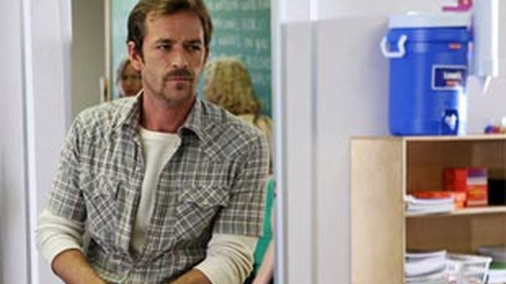 Luke Perry en 'Mentes Criminales'