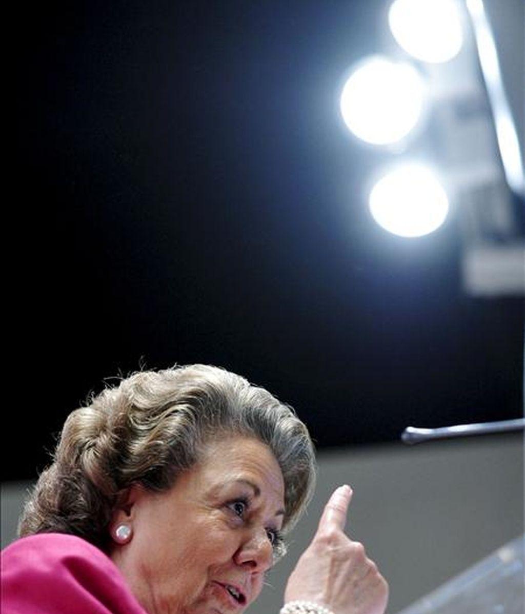 La alcaldesa de Valencia, Rita Barberá. EFE/Archivo