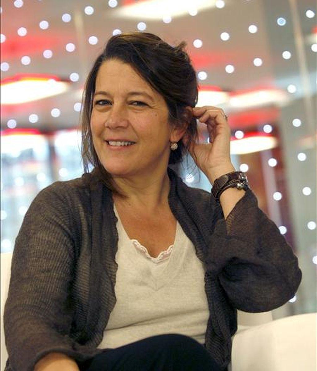 La directora de la feria internacional de Arte ARCO, Lourdes Fernández, en una entrevista reciente con Efe. EFE/Archivo