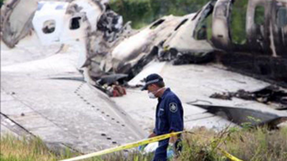 Once personas murieron en el anterior siniestro. Foto: EFE.