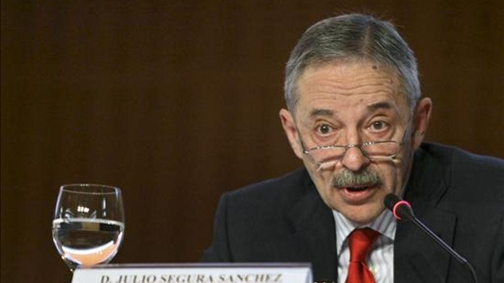 El presidente de la Comisión Nacional del Mercado de Valores, Julio Segura. EFE/Archivo