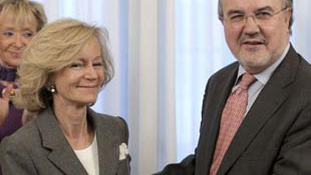 Salgado toma posesión como nueva vicepresidenta y ministra de Economía. Vídeo: ATLAS.