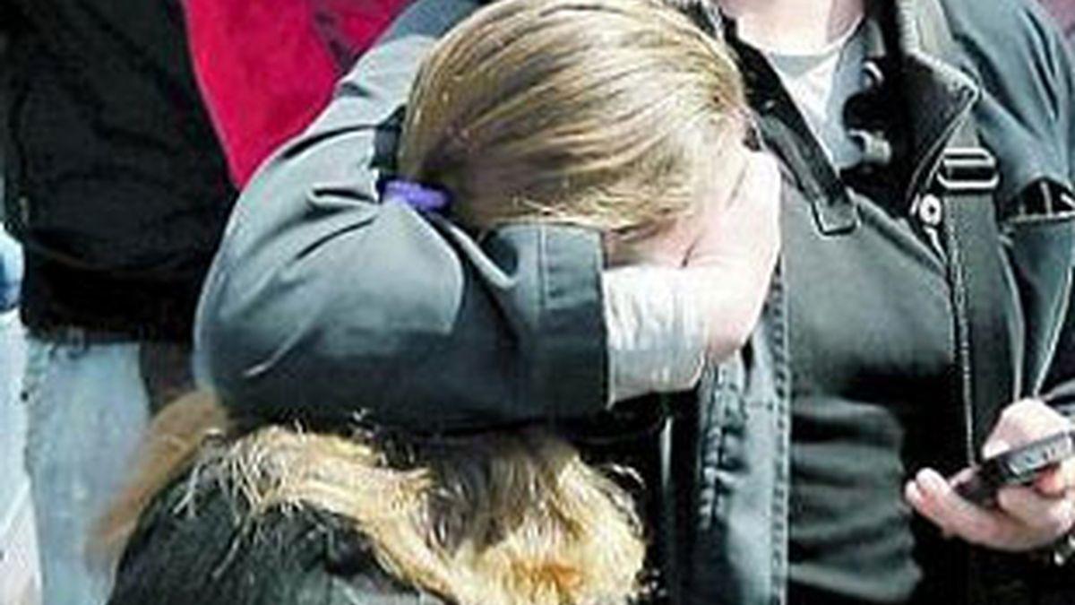 Imagen de al menor de Camas a su llegada a los juzgados en una de sus comparecencias. Foto: EFE.