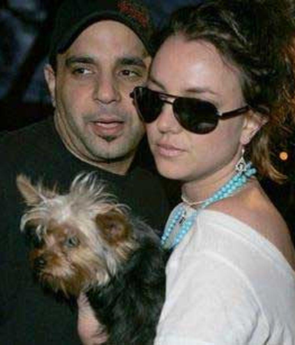 Britney Spears y Sam Lutfi en una imagen de archivo. Foto: AP