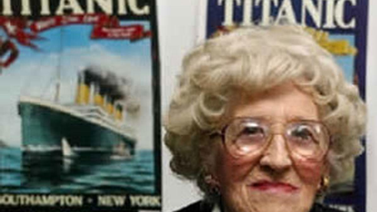Millvina Dean tenía nueve semanas cuando embarcó en el Titanic. Vídeo: Informativos Telecinco