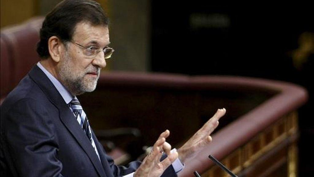 El líder nacional del PP, Mariano Rajoy, clausura hoy en Segovia la cuarta edición de la reunión que la dirección del partido celebra con sus presidentes provinciales con el objetivo de analizar las aspiraciones electorales de la formación en las comunidades autónomas y en los municipios. EFE