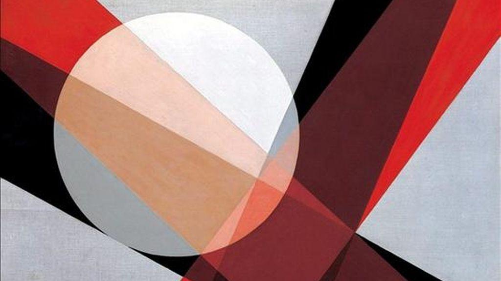 """Obra """"A19"""" (1927) de László Moholy-Nagy, de quien se vendió una fotografía este lunes en 242. 500 dólares. EFE/Archivo"""