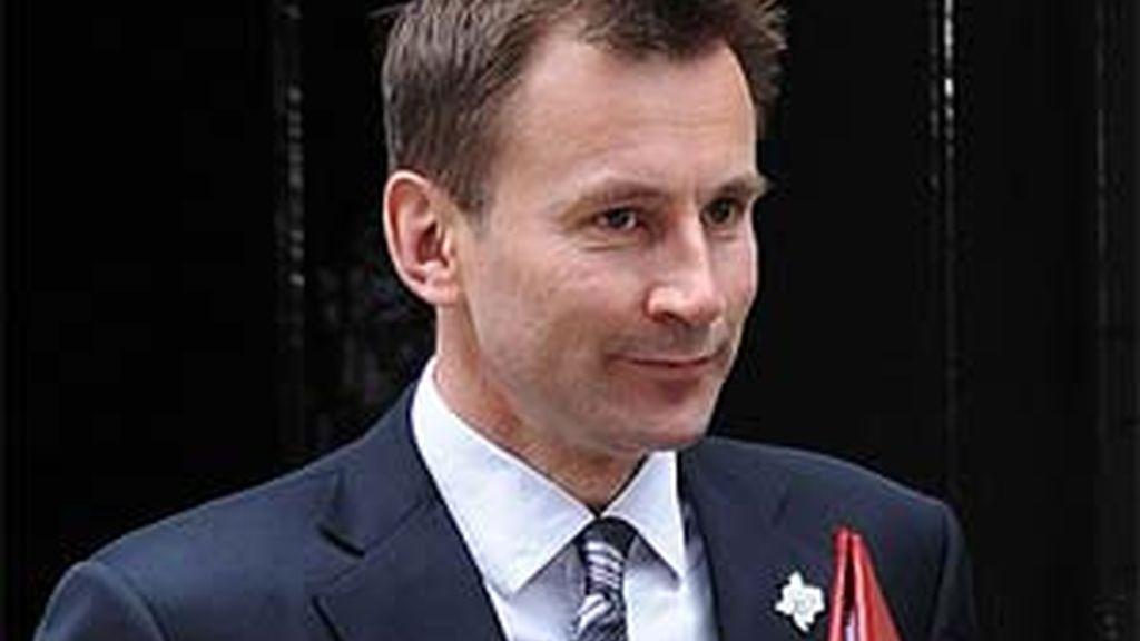 Jeremy Hunt, secretario de Estado de Cultura. Foto: A