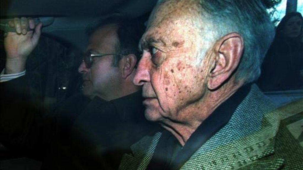 Imagen de archivo de 2003 en la que se observa al ex ministro de Economía argentino José Alfredo Martínez de Hoz, quien ejerció su cargo durante la última dictadura. EFE/Archivo