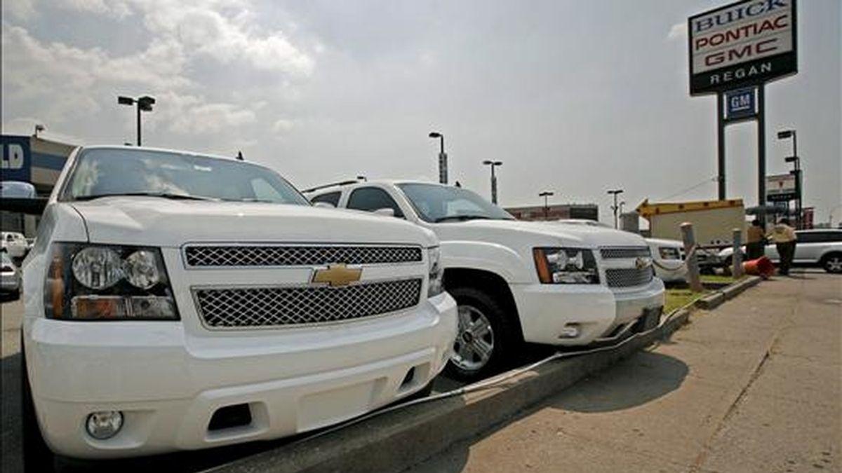 A finales de mayo, el inventario de vehículos de GM ascendía a 674.000 vehículos, un 13 por ciento menos que hace un año y un 16 por ciento menos que desde enero. EFE/Archivo