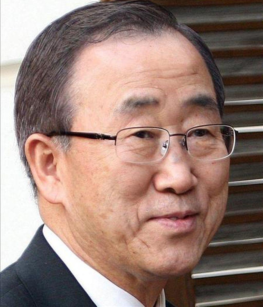 El secretario general de la ONU confirmó que el cambio climático también será el protagonista este año de la tradicional cumbre que el organismo convoca cada septiembre coincidiendo con la apertura del nuevo período de sesiones de la Asamblea General. EFE/Archivo