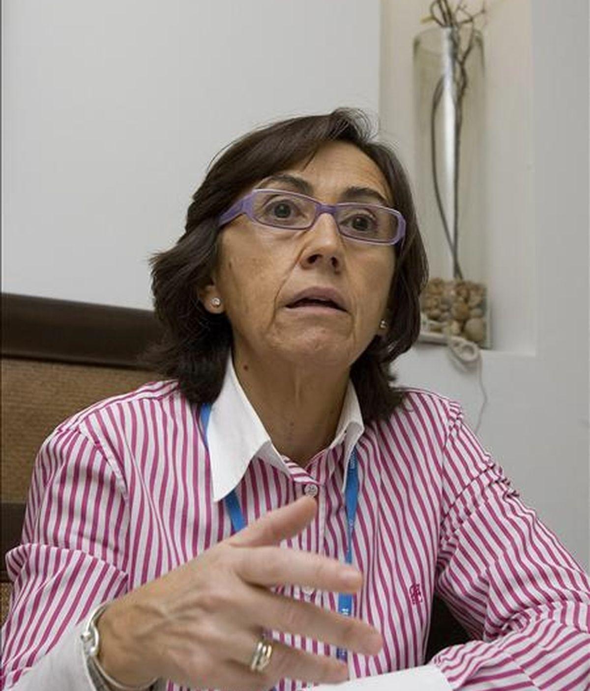 La ministra española de Medio Ambiente, Rosa Aguilar. EFE/Archivo