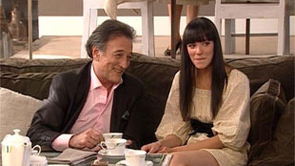 """""""Rebeca"""" y su tío Elías"""