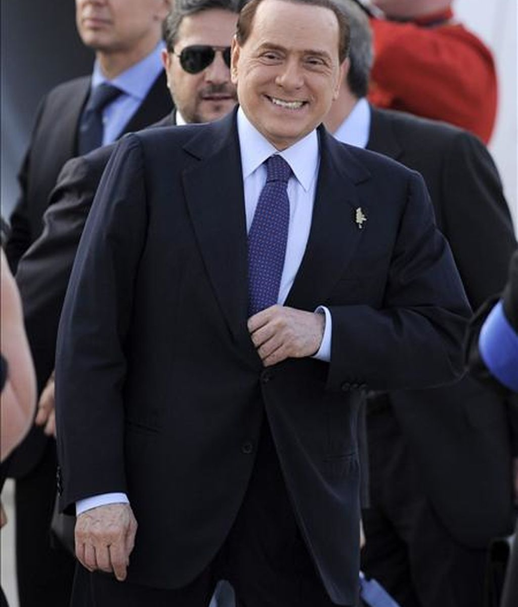 El primer ministro italiano Silvio Berlusconi. EFE/Archivo