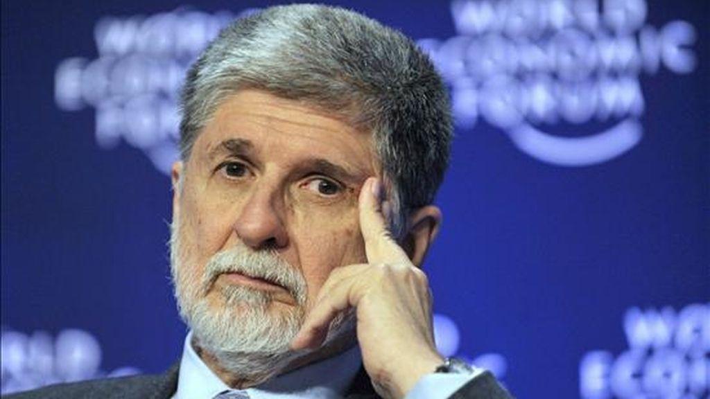 """Amorim consideró que medidas de ese corte """"no serían una buena señal"""" para el comercio mundial e insistió en que, en vez de apelar al proteccionismo, Estados Unidos y el resto de los miembros de la Organización Mundial de Comercio (OMC) deberían intentar retomar la Ronda de Doha. EFE/Archivo"""