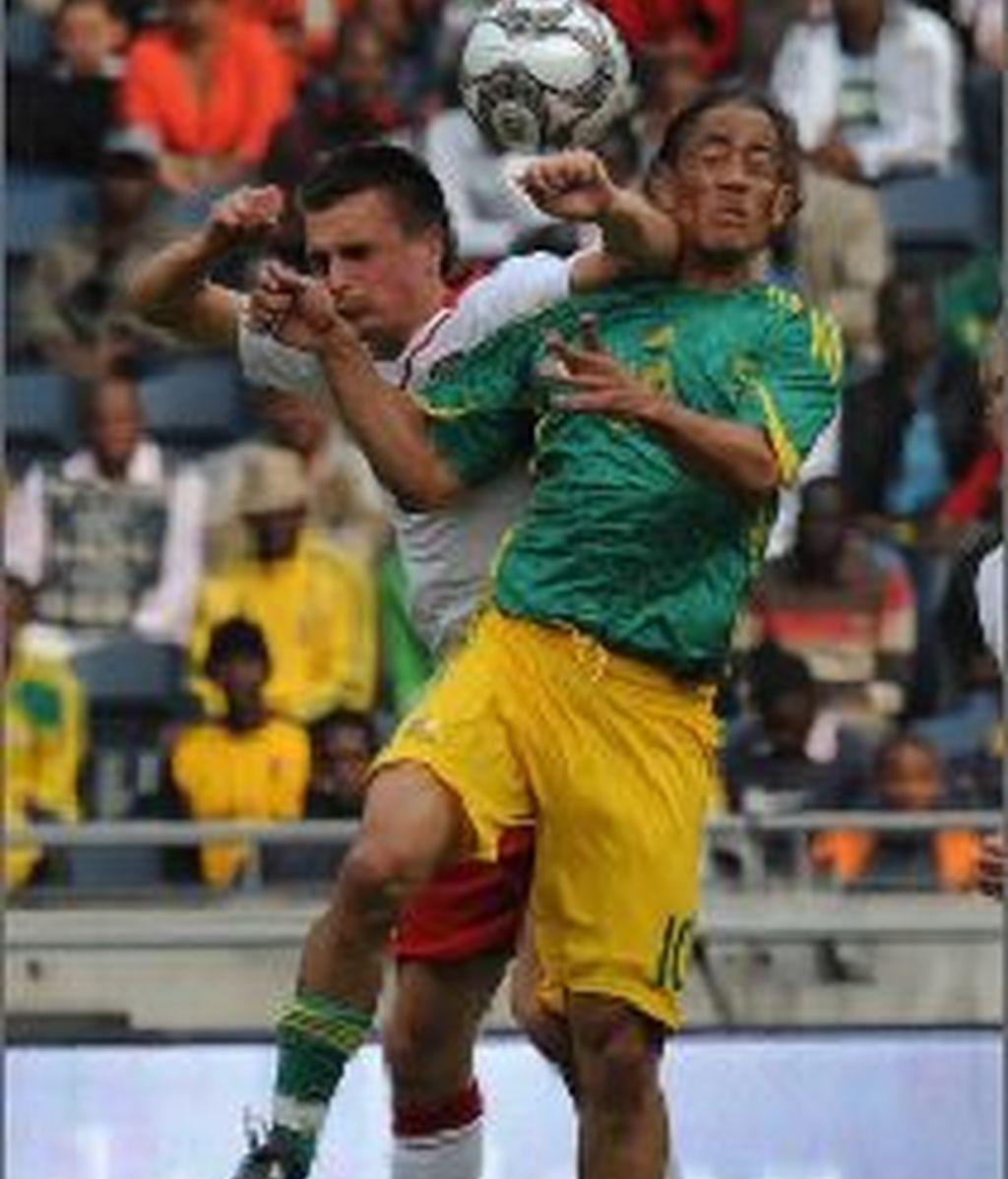 Steven Pienaar es una de las esperanzas de los 'Bafana Bafana'.