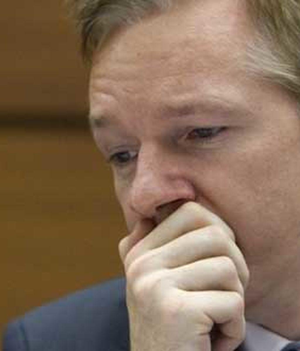 Julian Assange, en una imagen de archivo. Foto: AP